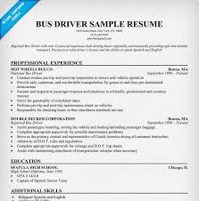 Bus Driver Resume Template Shuttle Driver Resume Professional Shuttle Bus Driver Templates