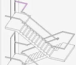 2 Step Handrail Revitcat Revit Multistorey Railings Story 1