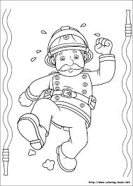 fireman sam colouring funycoloring