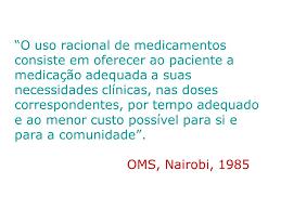 si e oms curso sobre uso racional de medicamentos ppt carregar