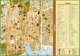 Bologna Italy Map by Tourist Map Of Palermo City Centre