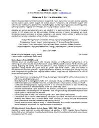 unix sys administration sample resume 12 sample linux system