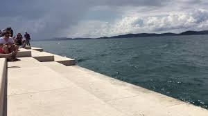 meeresorgel in zadar kroatien sea organ zadar croatia youtube