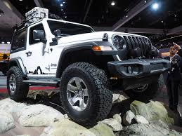 modified white jeep wrangler 2018 jeep wrangler limited the fast lane car