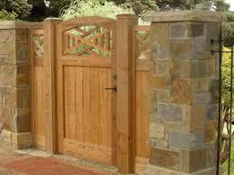 wood fence door design jumply co