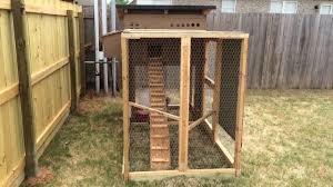 backyard chicken coop 1 0 youtube