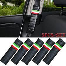 siege auto allemand 5 pcs ensemble de voiture siège de sécurité carbone fibre ceinture