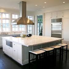 square kitchen islands square kitchen island contemporary castanes architects intended
