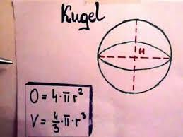 kugeloberfläche kugel oberfläche und volumen