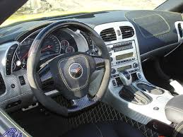Corvette C6 Interior Lamination C6 Corvette Silver Carbon Dashes