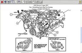 1995 mercury cougar firing order engine mechanical problem 1995