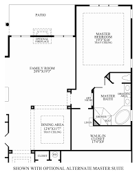 Master Suite Plans by Regency At Monroe The Bayhill Home Design