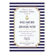 rehearsal dinner invitations nautical rehearsal dinner invitation card