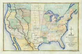 Texas And Mexico Map by The Plan U2013 Forgotten Frontiers