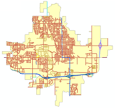 Brown Line Map Are Your Taxes Paying For The Cost Of Your Street My Mapstory Blog