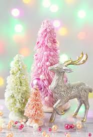 pastel colored trees stock image image of gift