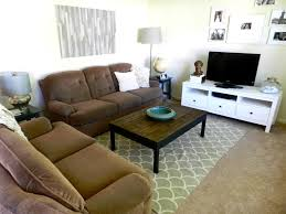 Home Decorators Coffee Table Black Leather Sofa With Brown Cushions Also Grey Bench Table On