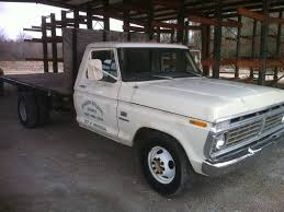 Ford F350 Landscape Truck - 1974 ford f350 flatbed fully sweet fords pinterest ford and