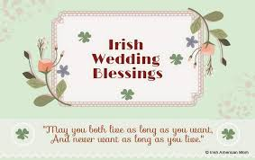 wedding wishes as gaeilge wedding blessings american