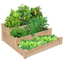 multi tiered planter boxes multi level raised planter bed