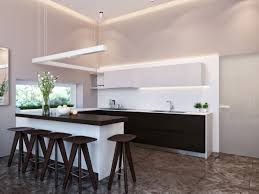 Modern Kitchen Interior Modern House Interiors With Dynamic Texture And Pattern