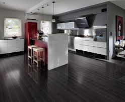 Black High Gloss Laminate Flooring Kahrs Beech Baccarat 1 Strip High Gloss Lacquer Finish The