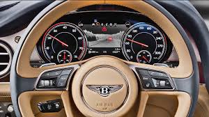 bentley steering wheel 2016 bentley bentayga technology youtube