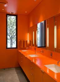 Interior Color by Best 25 Orange Bathrooms Ideas On Pinterest Orange Bathroom