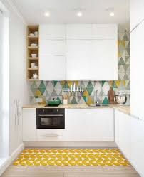 tapis pour cuisine tapis de cuisine moderne 2017 avec carrelage design tapis pour
