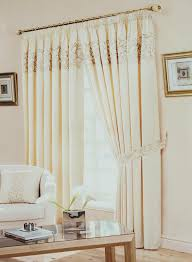 beige border lined ready made curtains free uk delivery terrys