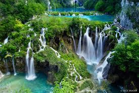 plitvice waterfalls plitvicka jezera croatia mountain