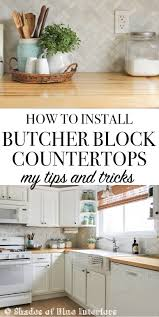 how to install butcher block countertops how to install butcher block countertops my tips and tricks