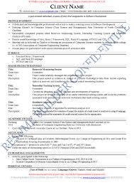 Sample Resume Format For Freshers Software Engineers by Sample Resume For Accountant Fresher Free Resume Example And