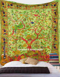 Tapestry On Bedroom Wall Tree Of Life Tapestries Wall Hangings Royal Furnish