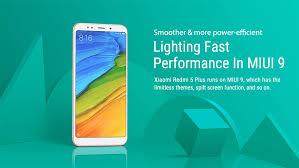 Xiaomi Redmi 5 Plus Xiaomi Redmi 5 Plus 5 99 Inch 4gb 64gb Smartphone Gold