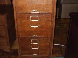 Decorative File Cabinets 4 Drawer File Cabinet Wood Richfielduniversity Us