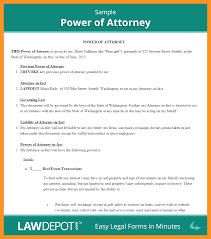 Missouri Power Of Attorney Forms by 8 Bank Of America Power Of Attorney Form Scholarship Letter