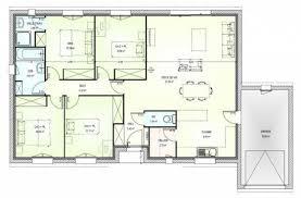 plan maison gratuit 4 chambres plan maison neuve à construire marc junior open plain pied 103
