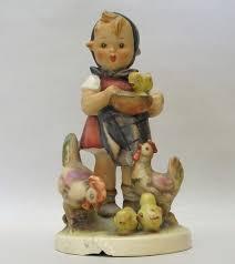 hummel figurines hummel feeding chicken s figurine