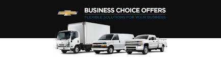 chevy deals u0026 incentives chevrolet business choice offers gm fleet