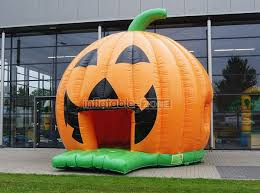 custom made orange pumpkin wholesale bouncers