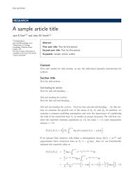bmc bioinformatics latex template sharelatex online latex editor