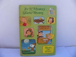 it u0027s a mystery charlie brown hardcover book 1975 random house