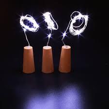 Strip Led Lights Ebay by 3pcs Wine Stopper Lamp Starry Copper Wire Light String Strip Cork