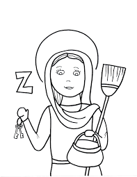 coloring pages saints to color page 3