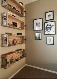 In Wall Shelves by Wall Mounted Box Shelves U2013 A Trendy Variation On Open Shelves
