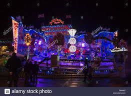 uk 19 november 2015 a bavarian fairground ride hyde