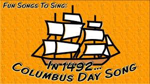 in 1492 columbus day song for children youtube