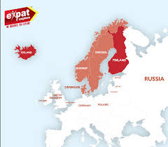 Scandinavia On Map How The North Of Europe Works Scandinavia Expat Explore Travel