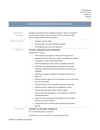 computer skills on resume sample staffing coordinator resume template and job description staffing coordinator resume page 001